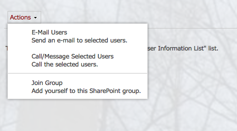 Permissions: join a group